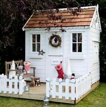 White Christmas Childrens playhouse