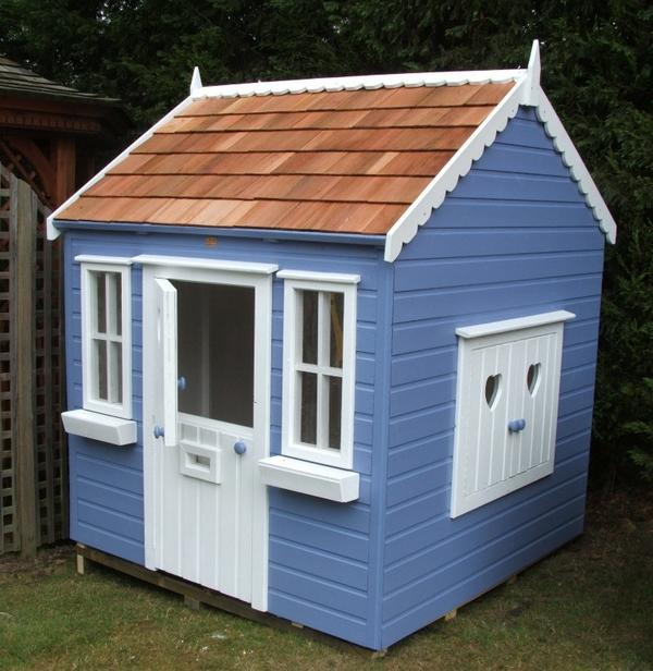Childrens cottage playhouse with stable door and shutter window