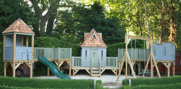 Childrens Treehouse, Castle and Shelter