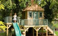 Childrens Garden Tree House with slide